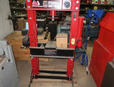 TORIN 50-TON HYDRAULIC H-FRAME PRESS