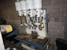 ALLEN 4-BANK PRODUCTION DRILL PRESS 230/460V 3PH