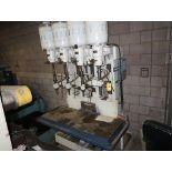 ALLEN 4-BANK PRODUCTION DRILL PRESS 230/460V 3PH