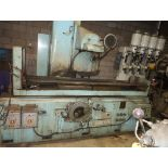 """THOMPSON AUTOMATIC SURFACE GRINDER, TWIN 16"""" X 24"""" ELECTRO MAG CHUCKS"""