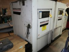 INGERSOLL RAND 50HP ROTARY SCREW AIR COMPRESSOR, MDL. SSR-EP50SE SN. G9211U01094