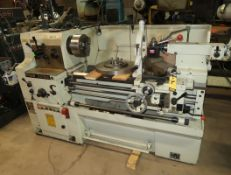 YAM EISEN MDL. 2233M PRECISION HIGH SPEED, GAP BED LATHE, 3- JAW CHUCK, DORIAN 4-WAY TOOL POST, 220V
