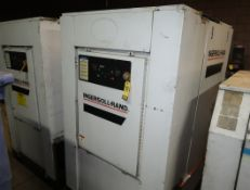 INGERSOLL RAND 50HP ROTARY SCREW AIR COMPRESSOR, MDL. SSR-EP50SE SN. G9228U01081