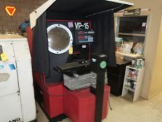 VERMONT PRECISION VP-15 OPTICAL COMPARATOR SN. VP150160