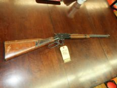 ITHACA M-49R LEVER ACTION .22 LONG RIFLE, NEEDS ROD