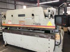 ACCURPRESS 10' X 100TON CNC PRESS BRAKE, MDL. 710010 SN. 2978, 220V 3PH