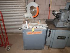 ELUMATIC MDL. 36-929 MITER CHOP SAW 240/480V 3PH