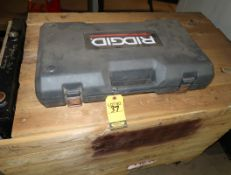 "RIDGID MANUAL THREADER 1/2"" - 2"""