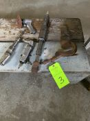 lot of pneumatic hand tools
