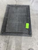 lot of rubber cushion floor matts