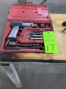 Snap On pneumatic air chisel and box