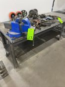 Steel Work bench with Vise