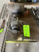 Lot (2) Electrical motors
