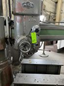 Mas Model VR-4 Radial arm drill, 4 arm