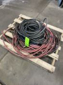 skid of various air hose