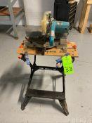 Makita model Ls-1000 Miter saw and bench