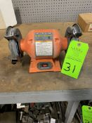 "6"" central Machine double end pedestal grinder"