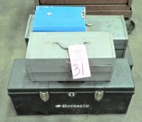 Lot-(5) Asst'd Tool Tote Boxes