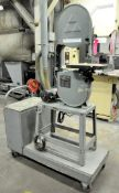 """Delta Cat. No. 28-275, 14"""" Vertical Contour Wood Cutting Band Saw, S/n 97 A 99210, with Cart, ("""