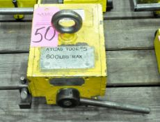 Magnetool 800-Lbs. Capacity Crane Stock Magnet, Manual Release