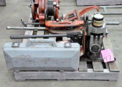 Ridgid Model 918, Hydraulic Roll Groover, S/n N/a