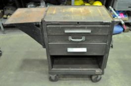 Lot-(3) Kennedy Rolling Tool Chests and (1) Top Tool Box