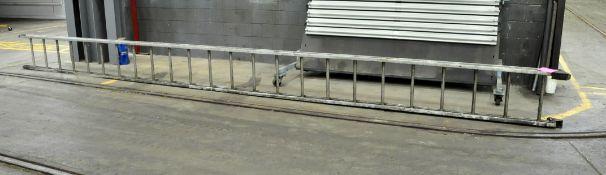 24' Aluminum Single Stage Ladder