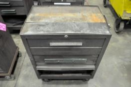 Lot-(3) Kennedy 3-Drawer Rolling Tool Chests