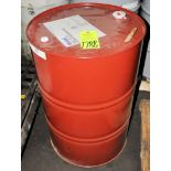 55-Gallon Drum Mobil Type F Automatic Transmission Fluid, (Oils Storage Building), (Yellow Tag)