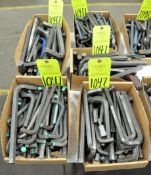 Lot-Large Allen Wrenches in (5) Boxes, (E-7), (Yellow Tag)