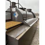2,000 Gallon Capacity Waste Oil Tank, standard self containment area