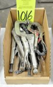 Lot-Vise Grips in (1) Box, (E-7), (Yellow Tag)