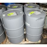 Lot-(2) 55-Gallon Drums of National R & O 320 Lubricating Oil on (1) Pallet, (Oils Storage