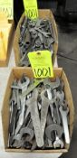 Lot-Wrenches in (2) Boxes, (E-7), (Yellow Tag)