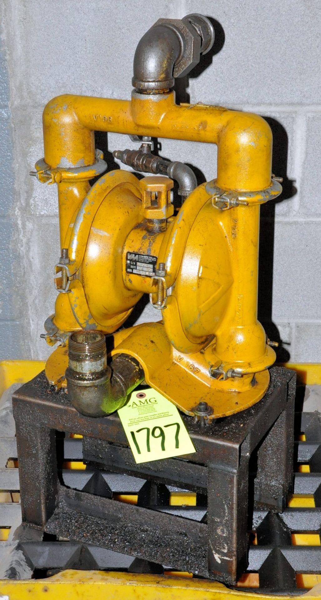 Lot-(3) Versamatic Pneumatic Fluids Pumps, (Oils Storage Building), (Yellow Tag)