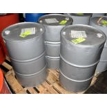 Lot-(3) 55-Gallon Drums of National R & O 320 Lubricating Oil on (1) Pallet, (Oils Storage