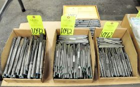 Lot-Reamers in (3) Boxes and (1) Reamer Set on Floor Under (1) Table, (E-7), (Yellow Tag)