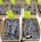 Lot-Asst'd Allen Wrenches in (4) Boxes, (E-7), (Yellow Tag)