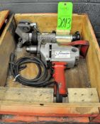 Milwaukee Victaulic Electric Drill with Case, (G-19), (Green Tag)