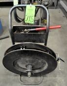 """3/4"""" Steel Banding Cart with Tensioner, (F-17), (Green Tag)"""