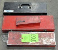Lot-Empty Socket Set Cases on Lower Shelf, (G-20, (Green Tag)