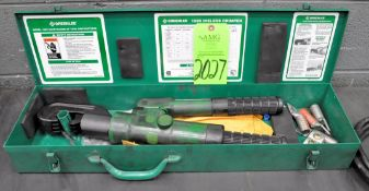Greenlee 1989, Dieless Crimper Set with Case, (G-19), (Green Tag)