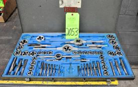 Lot-Tap and Die Sets, Taps in (1) Box, and Tap Handles in (1) Box, (G-23), (Green Tag)