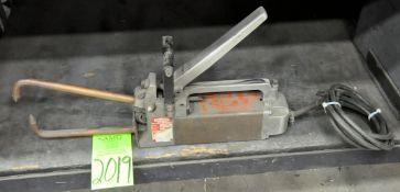 Dayton Model 2Z54, Hand Held Portable Spot Welder on Lower Shelf, (G-19), (Green Tag)
