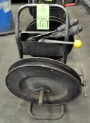 """3/4"""" Steel Banding Cart with Clips, Tensioner, Crimper, and Snips, (F-17), (Green Tag)"""