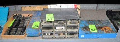 Lot-(1) Service Kit, (1) Bin Organizer Cabinet, (1) Oxygen Cylinder Set, and Speedglas Rechargeable
