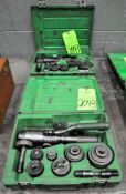 Lot-(2) Greenlee Hydraulic Punch Driver Sets with Cases, (G-20), (Green Tag)