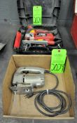 Lot-(1) Black & Decker Scroll Saw in (1) Box and (1) Skil Scroll Saw with Case, (G-19), (Green Tag)