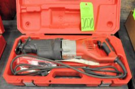 Milwaukee Electric Reciprocating Saw with Case, (G-19), (Green Tag)