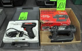 Lot-(1) Rotozip Pro Series Classic Spiral Saw Power Tool in (1) Box with (1) Weller Soldering Gun wi